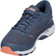 asics Gel-Kayano 24 Shoes Women Smoke Blue/Dark Blue/Canteloup